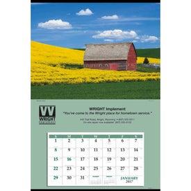 Jumbo Hanger Calendar Branded with Your Logo
