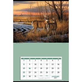 Monogrammed Jumbo Hanger Calendar