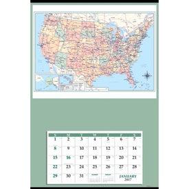 Imprinted Jumbo Hanger Calendar
