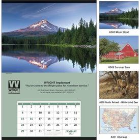 Personalized Jumbo Hanger Calendar
