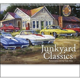 Junkyard Classics Calendar by Dale Klee for Customization