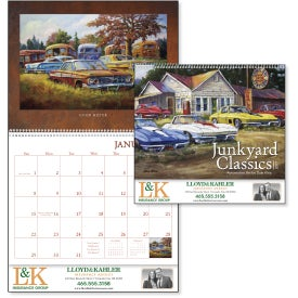 Junkyard Classics Calendar by Dale Klee for your School