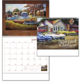 Junkyard Classics Calendar by Dale Klee for Your Organization