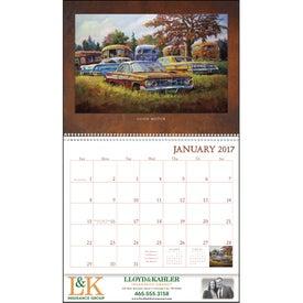 Personalized Junkyard Classics Calendar by Dale Klee