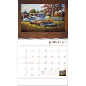 Junkyard Classics Calendar by Dale Klee for Advertising