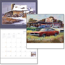 Junkyard Classics Calendar by Dale Klee (2020)