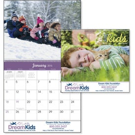 Just Kids Appointment Calendar Printed with Your Logo