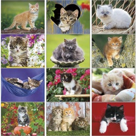 Customized Kittens 12 Month Appointment Calendar