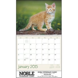 Personalized Kittens 12 Month Appointment Calendar