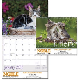 Kittens 12 Month Appointment Calendar for Your Church