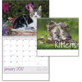 Branded Kittens 12 Month Appointment Calendar