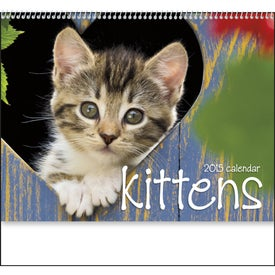 Kittens 12 Month Appointment Calendar for Your Company