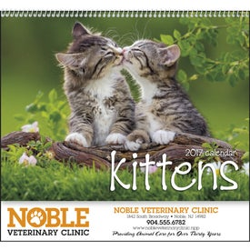 Kittens 12 Month Appointment Calendar (2017)
