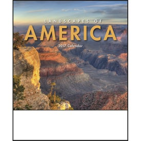 Customized Landscapes of America Mini Calendar, English