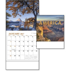 Promotional Landscapes of America Mini Calendar, English