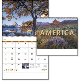 Company Landscapes of America Spiral Calendar, English