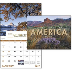 Landscapes of America Window Calendar, English for Your Church