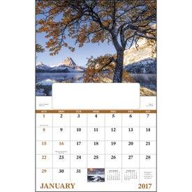 Promotional Landscapes of America Window Calendar, English