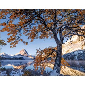 Landscapes of America Window Calendar, English Imprinted with Your Logo