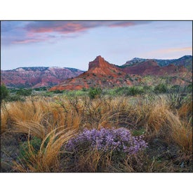 Landscapes of America Window Calendar, English for Marketing