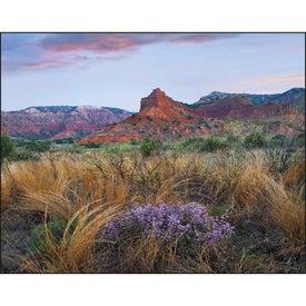 Landscapes of America Window Calendar, English for Marketing