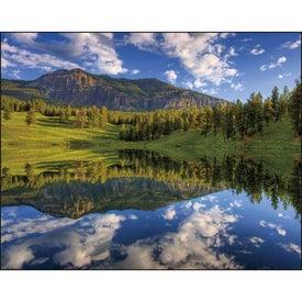 Monogrammed Landscapes of America Window Calendar, English