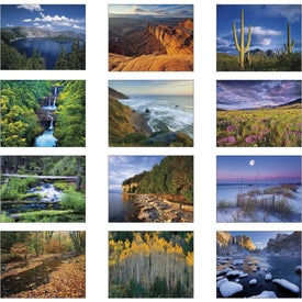 Branded Landscapes of America Spiral Calendar, Spanish