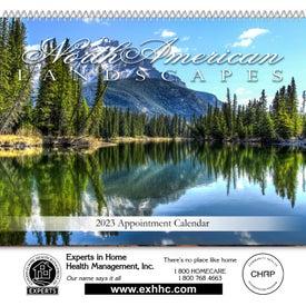Landscapes of American Spiral Bound Calendar