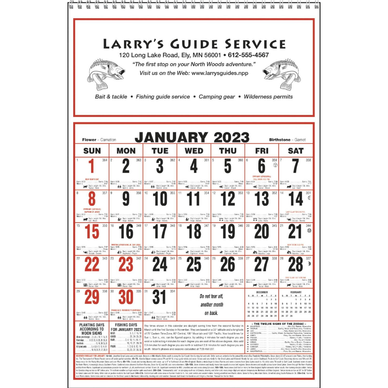 Promotional 2020 Large Almanac Calendars With Custom Logo For 1 59 Ea