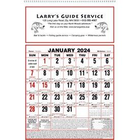 Large Almanac Calendar (2019)