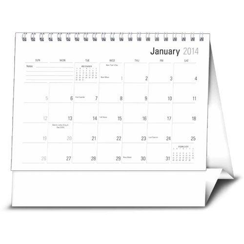 2014 Desk Planners 2015 Custom Desk Calendars Promotional   Party ...