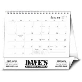 Large Econo Desk Calendar Imprinted with Your Logo