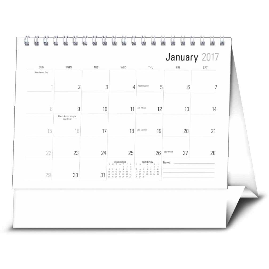 Calendar Large : Large econo desk calendar custom calendars ea