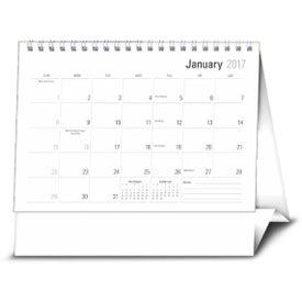 Imprinted Large Econo Desk Calendar