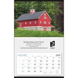 Custom Large Hanger Calendar