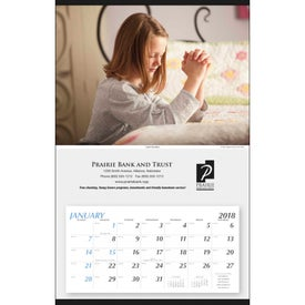 Large Hanger Calendar for Your Church