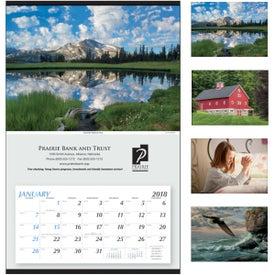 Printed Large Hanger Calendar