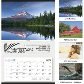Large Hanger Calendar for Your Company