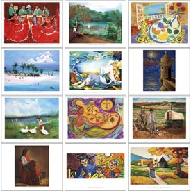 Printed Latino Art Appointment Calendar