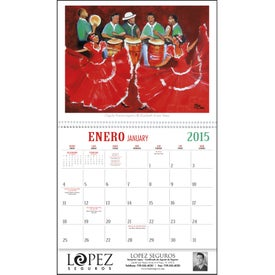 Company Latino Art Appointment Calendar