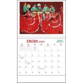 Logo Latino Art Appointment Calendar