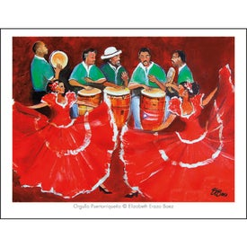 Latino Art Appointment Calendar for Your Company