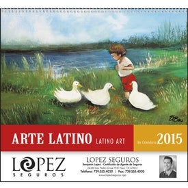 Latino Art Appointment Calendar for Marketing