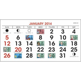 Advertising Legacy Desk Calendar