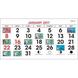 Customized Legacy Desk Calendar