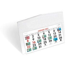 Legacy Desk Calendar with Your Logo