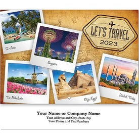 Let''s Travel Stapled Wall Calendars (2022)