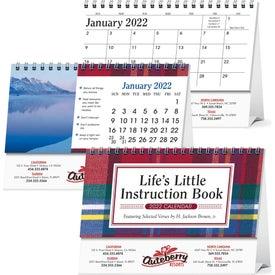Life's Little Instruction Book Desk Calendar with Your Logo