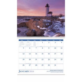 Lighthouses Appointment Calendar for Marketing