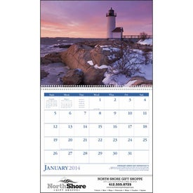 Lighthouses Appointment Calendar Branded with Your Logo